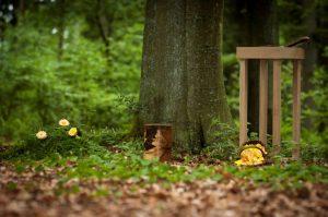 Wald Urne
